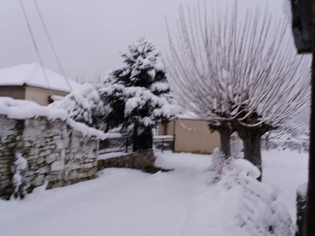 Χιονισμένη Αρκαδία και Τρίπολη
