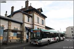 Iveco Bus Urbanway 18 Hybride - RATP (Régie Autonome des Transports Parisiens) / STIF (Syndicat des Transports d'Île-de-France) n°5089