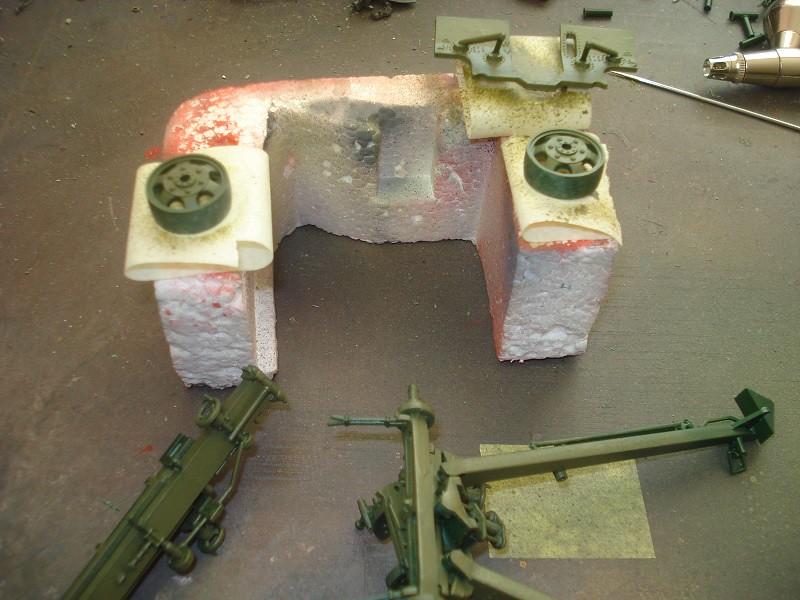 105 mm Howitzer - Revell 50-års jubileums utgåva 46026788044_8d9c98d6da_b