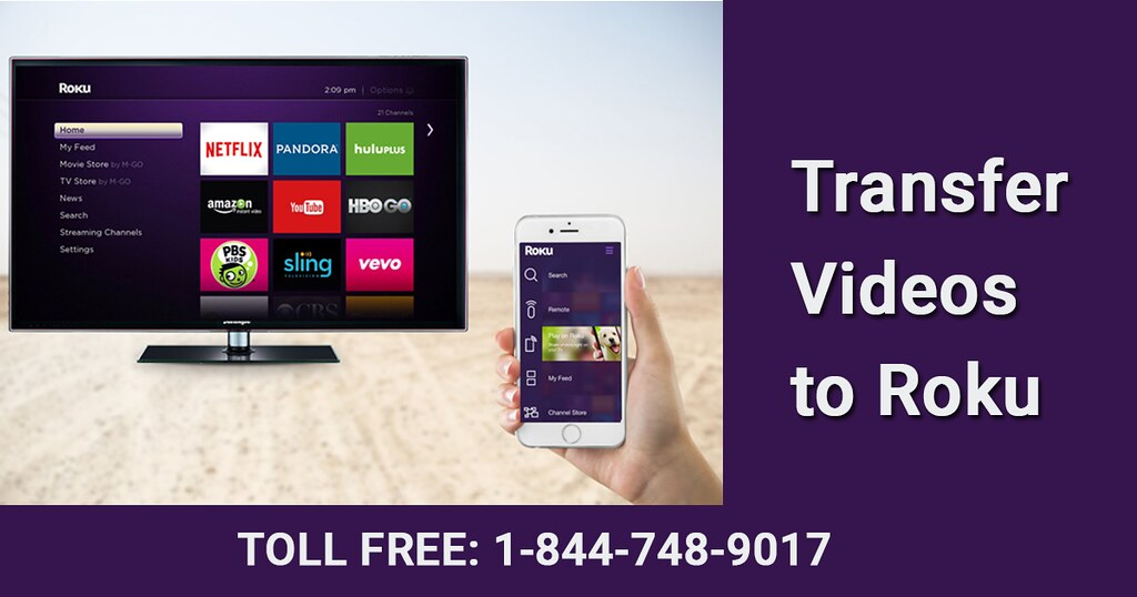 Transfer Videos to Roku