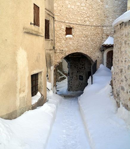 Inverno a Castel del Monte