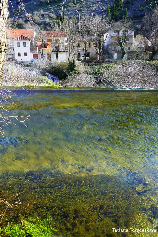 Вид на другой берег реки