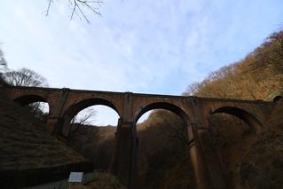 碓氷峠 メガネ橋