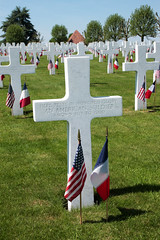 Grave of an unknown soldier Somme American Cemetery Bony Picardy France - Photo of Vendhuile