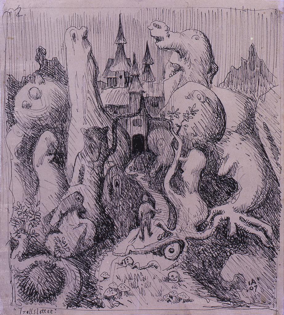Ivar Arosenius - Title Unknown, 2, 1907