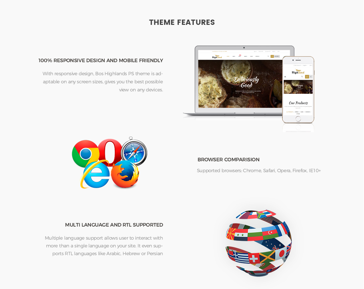 Prestashop 1.7 theme features-Bos Highlands - Food and Drink Prestashop Theme