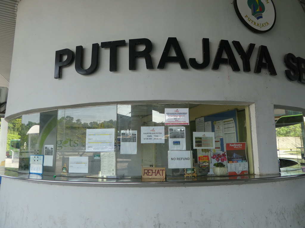 Putrajaya bus station ticket office