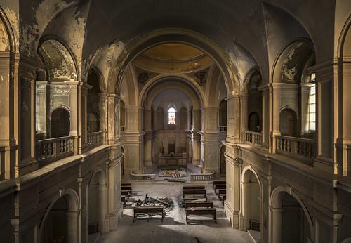 Disused hospital chapel