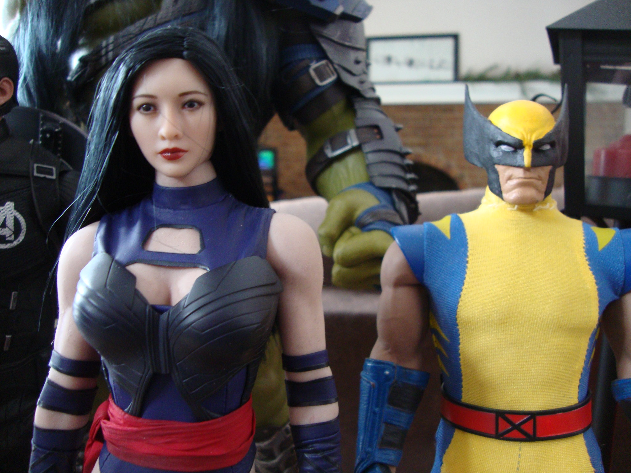 Toys Era Psylocke (Body swapped to a Phicen) 46664525642_0c915a16a4_k