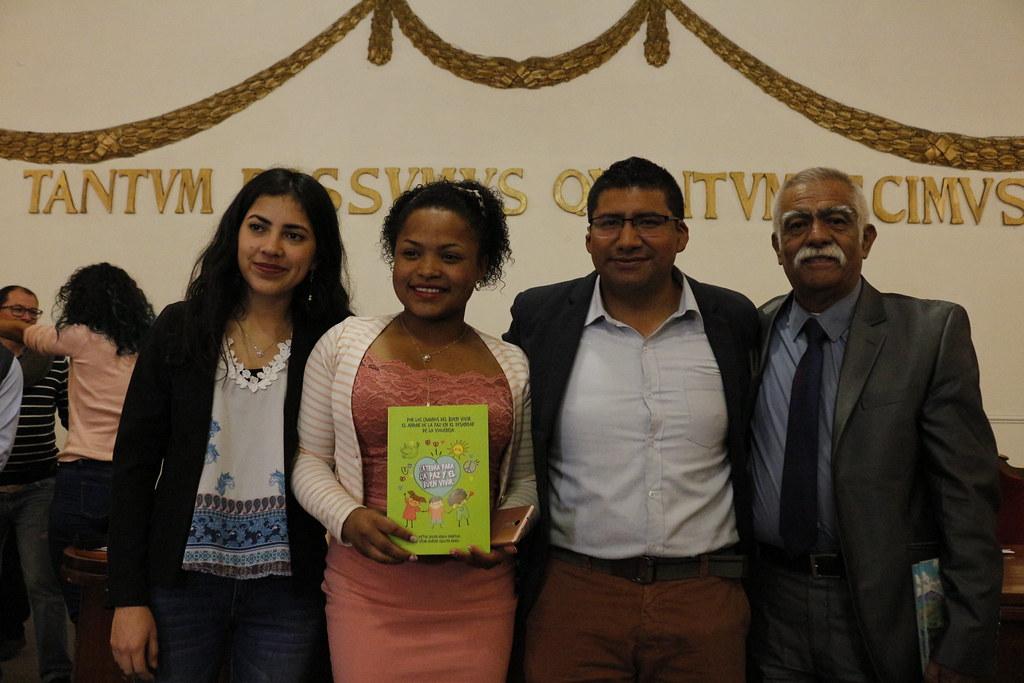 Lanzamiento del libro Catedra para la paz y el buen vivir 2019