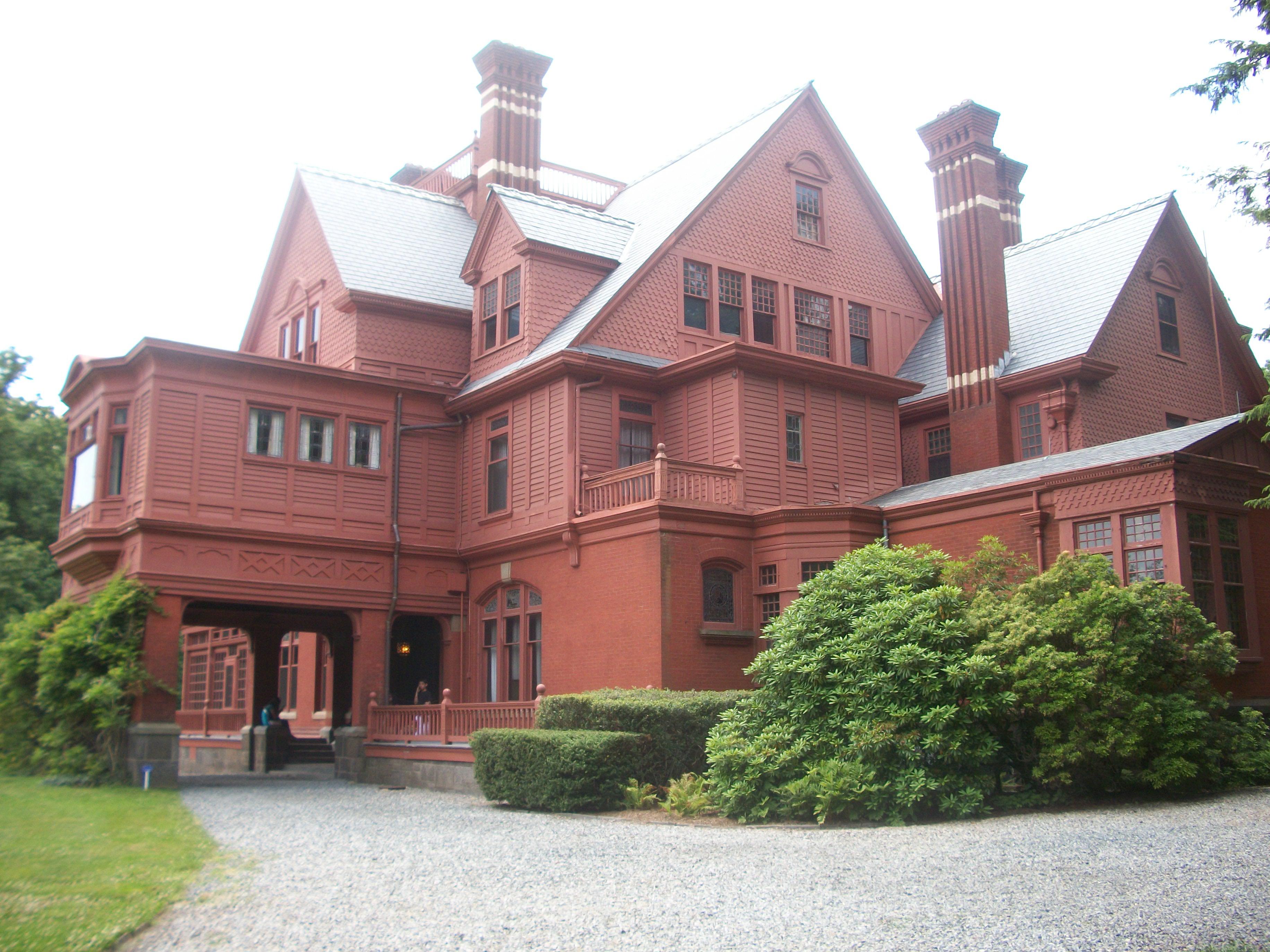 Glenmont, Thomas Edison's estate in Llewellyn Park in West Orange in Essex County, New Jersey. Photo taken circa June 2010.