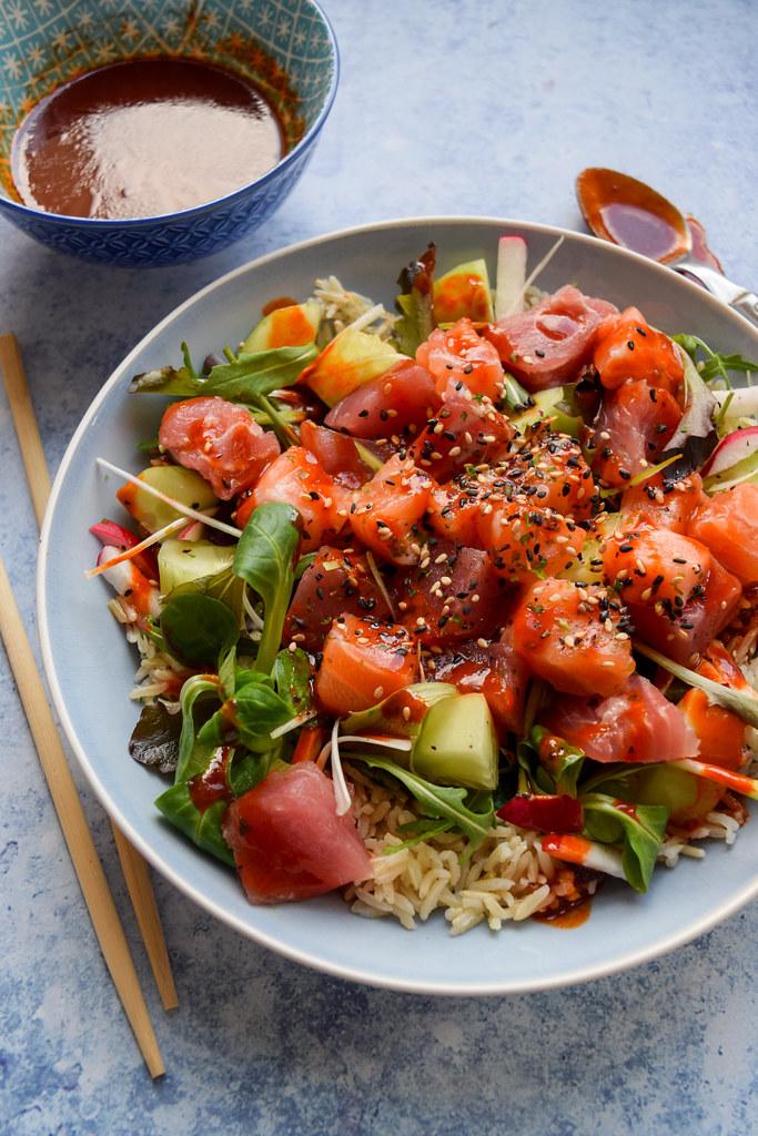 How To Make A Korean Sashimi Salad
