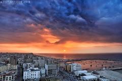 Gaza, Sunset