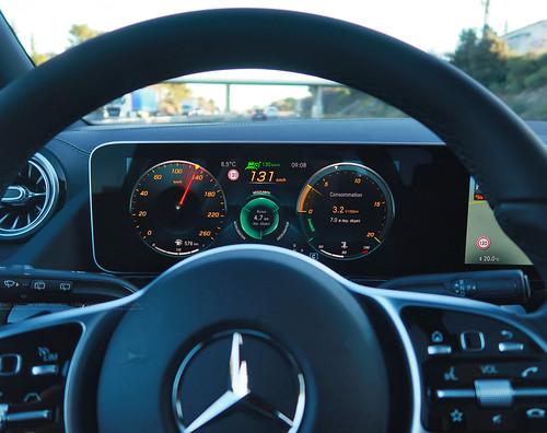 Essai Mercedes Classe B AMG Line 2019