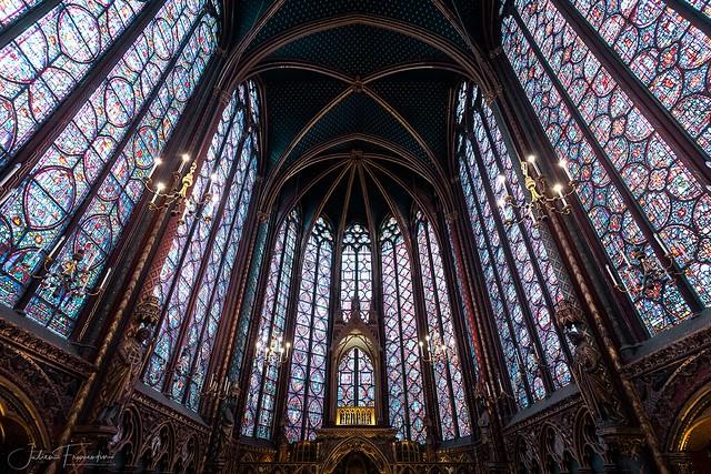 Chapelle Haute, Sainte-Chapelle, Paris