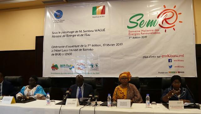 Semaine malienne des énergies renouvelables (SemR) 19-23 February 2019 - Bamako, Mali,