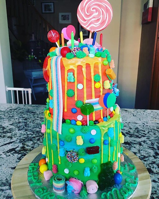 Candy Land Cake by Sienna's Cupcakery