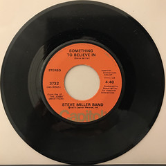 STEVE MILLER BAND:THE JOKER(RECORD SIDE-B)