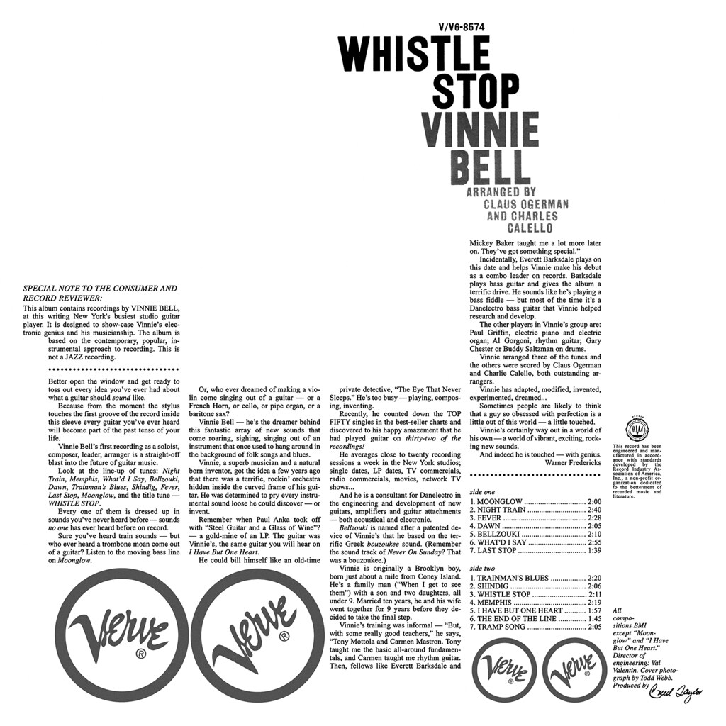 Vinny Bell - Whistle Stop