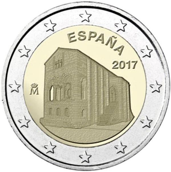 2 EURO Španielsko 2017 - Astúria