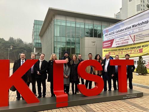 COMSA se alía con el principal centro de I+D de Corea para desarrollar un balasto sintético de alta durabilidad