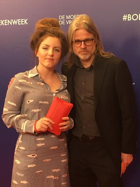 Lize Spit en Rob van Essen