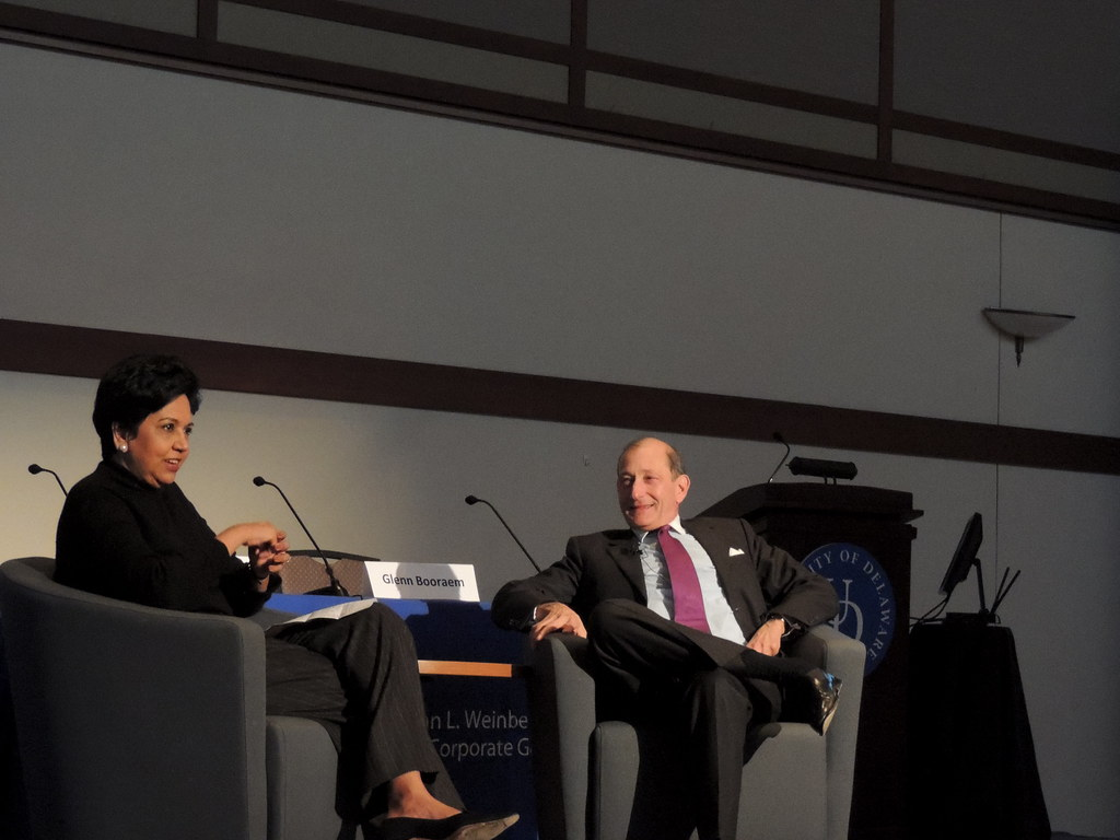 Former PepsiCo CEO lectures on her time in the industry