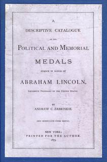 Zabriskie Medals of Abraham Lincoln