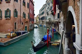 Boat Hearse in Venice