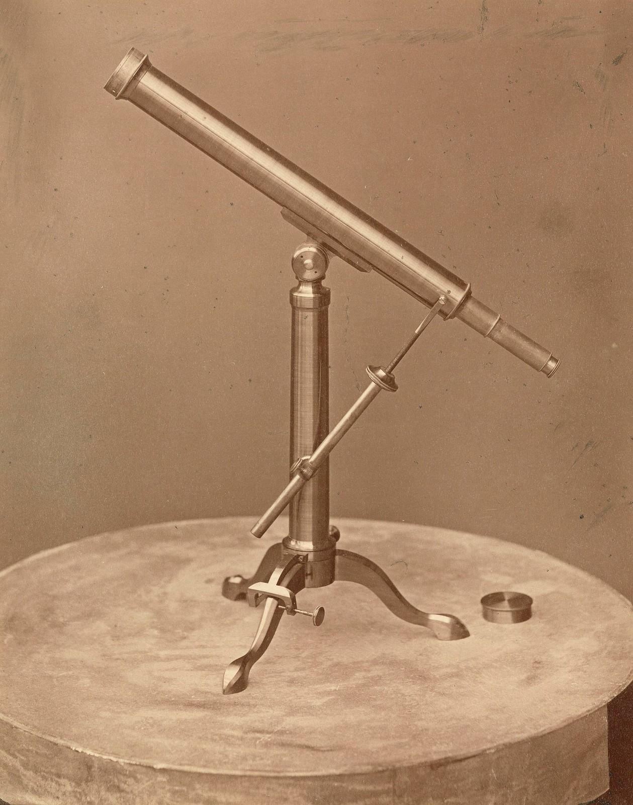 Телескоп М.Хербста в Пулковской обсерватории