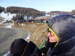 warm as toast at Col de Moissière, Ancelle, for the Monte-Carlo Rally