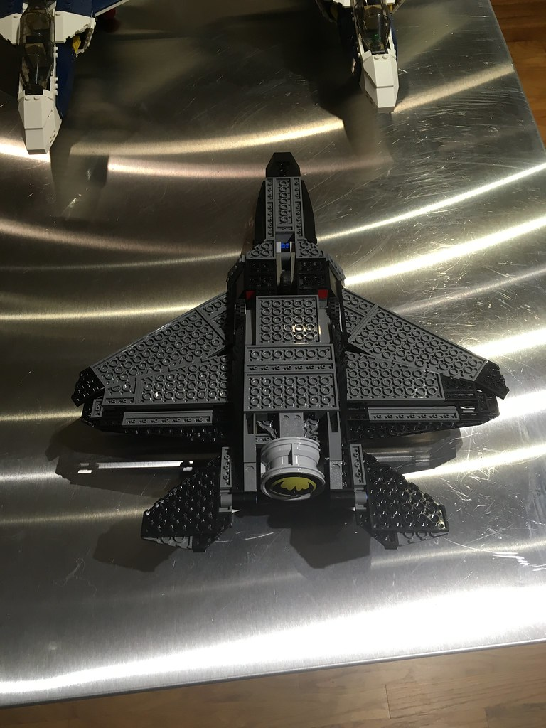 Batjet underside