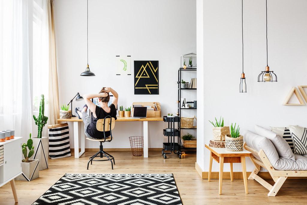 如何讓室內空氣好、採光佳是一門學問。圖片來源:bialasiewicz / envato