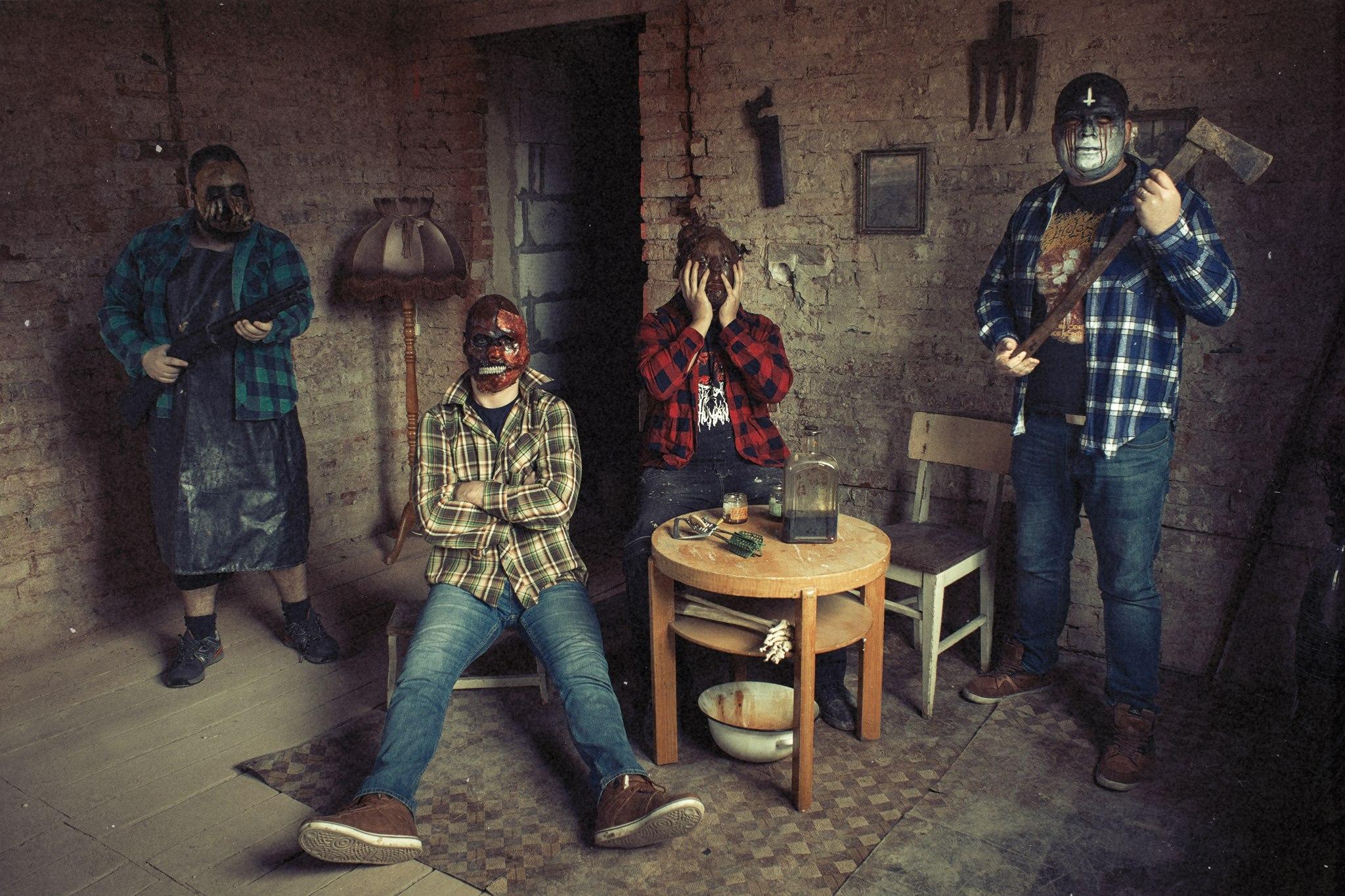 捷克輾核樂團 Murder Rape Amputate 釋出單曲 Chopped Torso Puzzle 公布全專輯試聽 Cadaverous Lullabies