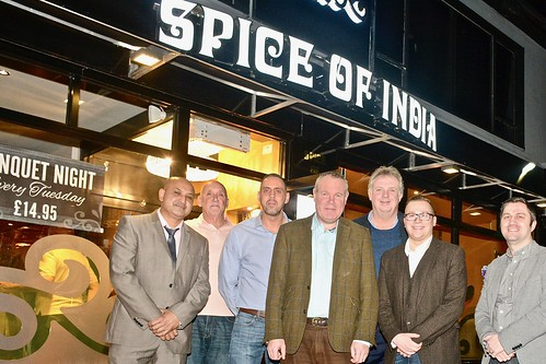 Conor meets local business leaders and Conservative council candidates at new Spice of India restaurant | by Conor Burns - Conservative