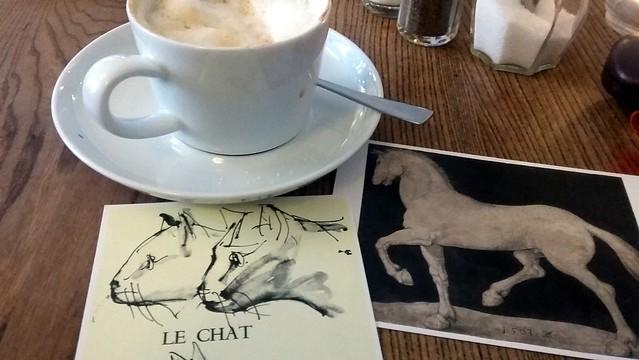 Coffee & postcards