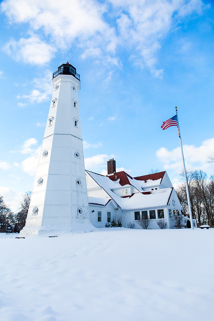 Snowy North Point Light 2