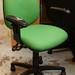 Green verbiage swivel chair E60