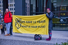 Chicago Sunrise Movement Rallies for a Green New Deal Chicago Illinois 2-27-19 6308