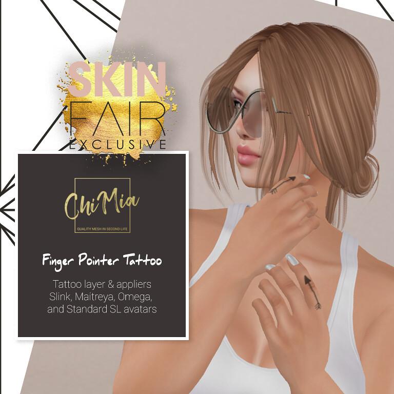 Finger Pointer Tattoo for Skin Fair - TeleportHub.com Live!