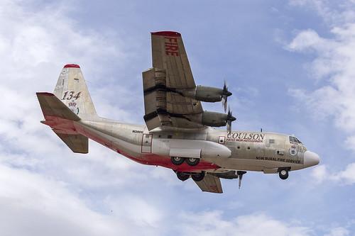 Coulson Aviation (N130CG) Lockheed EC-130Q Hercules at Albury Airport (8)