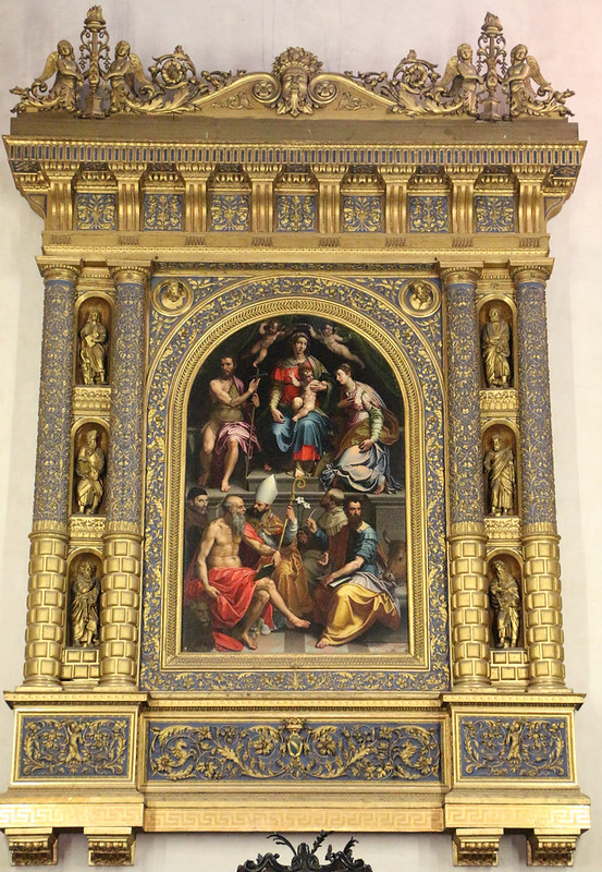 Girolamo_Siciolante_da_sermoneta,_madonna_col_bambino,_santi_e_il_committente_matteo_malvezzi,_1548,_01