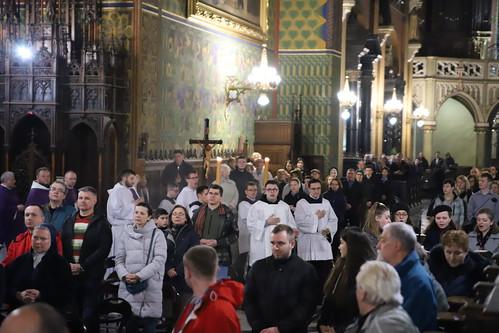 Kościół stacyjny - Bazylika OO. Franciszkanów | Abp Marek Jędraszewski, 30.03.2019
