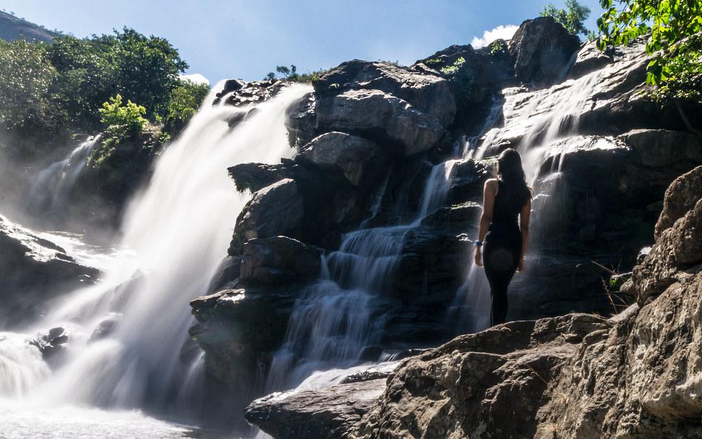 The beautiful Chinnar falls