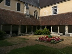 Cloître du couvent Saint François...Mortagne-au-Perche