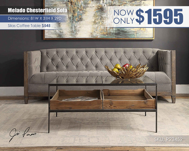 Melado Chesterfield Sofa_R23452