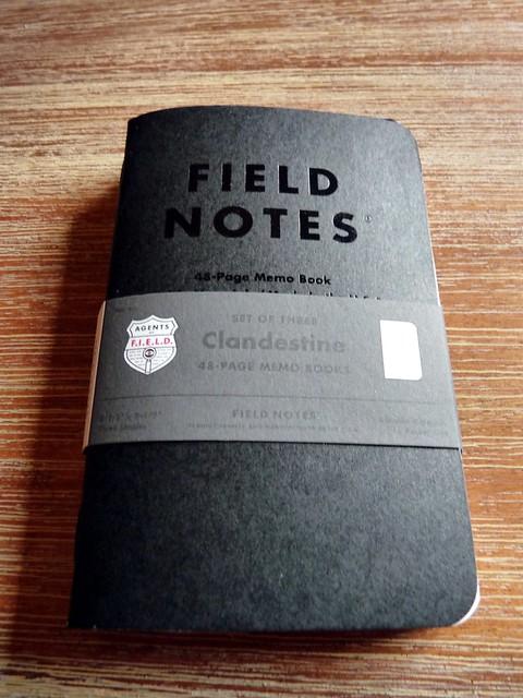 Field Notes Clandestine Edition 1