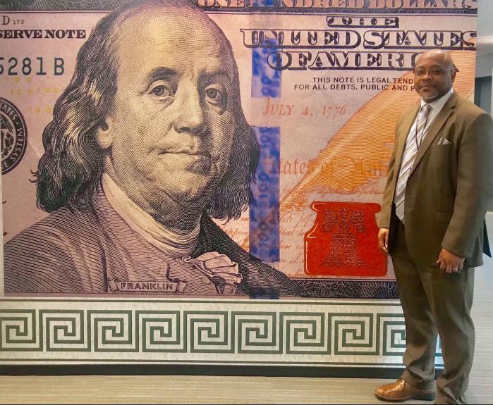 BEP Banknote Designer Brian Thompson