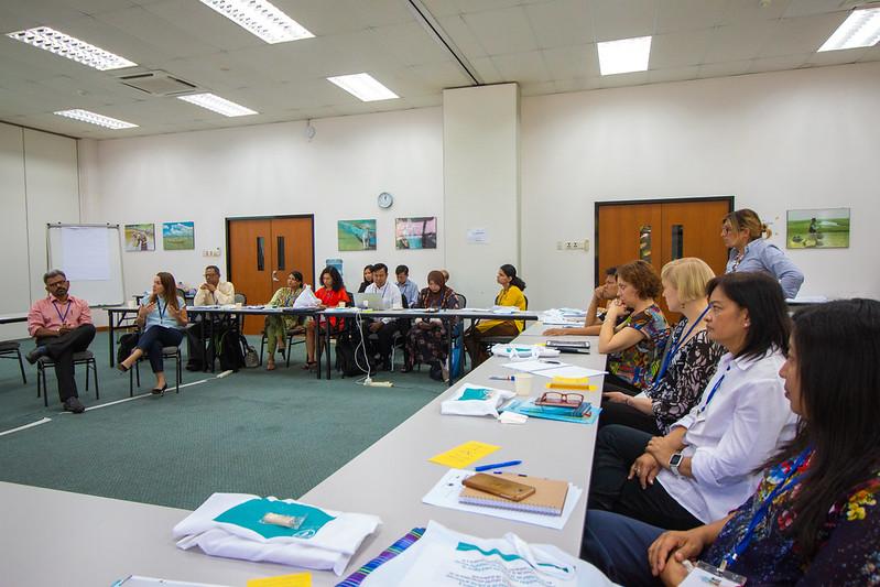 Multi-Stakeholder Information and Communications (MuSIC) Workshop, WorldFish HQ, Malaysia. Photo by WorldFish.