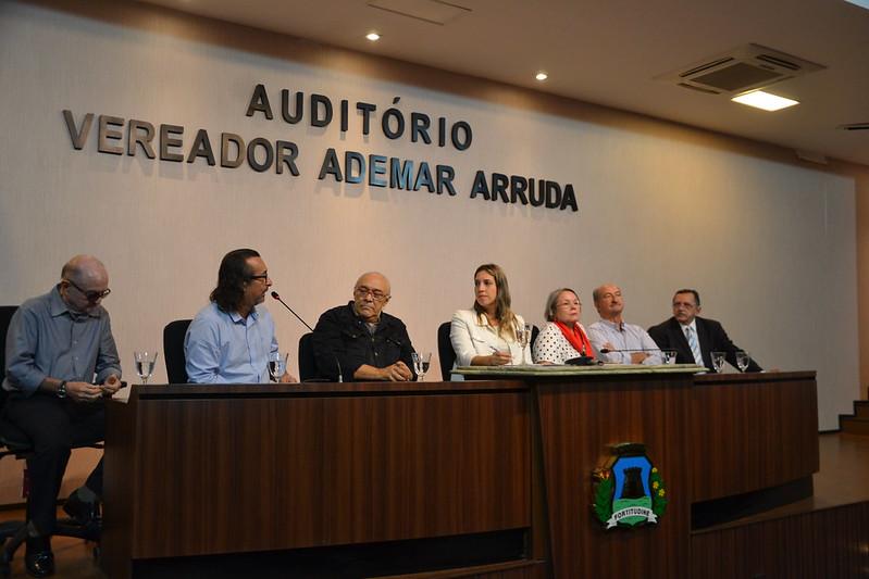 Audiência pública para discutir a mudança de nome de trecho da Rua Tabajaras, na Praia de Iracema, para Guilherme Neto (14.03.2019)